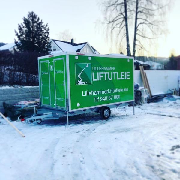 Arbeidsbrakke Lillehammer