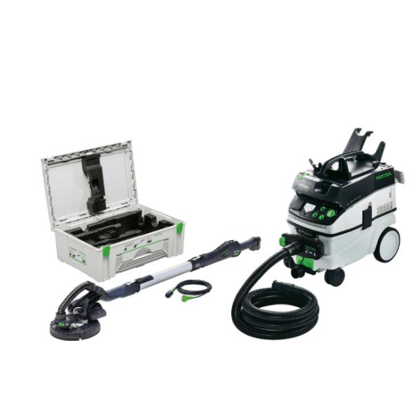 Slipemaskin Festool for gips LHS 225-IP med CTL 36 støvsuger