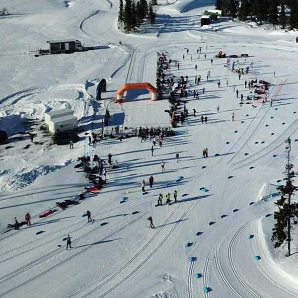 Skirenn Arrangement på Lillehammer