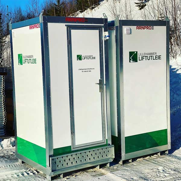 Toaletter Arrangement på Lillehammer